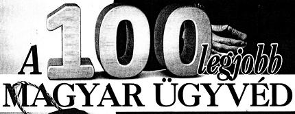 100 legjobb Magyar ügyvéd